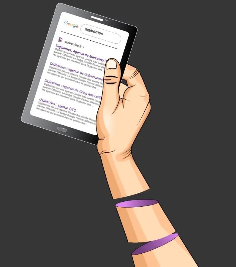 Illustration de Digiberries, la meilleure agence de référencement web à Paris