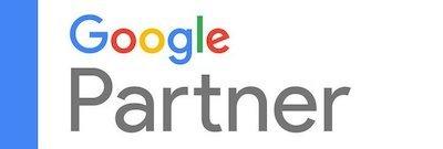 Logo qui certifie que Digiberries est une agence certifiée Google Partner