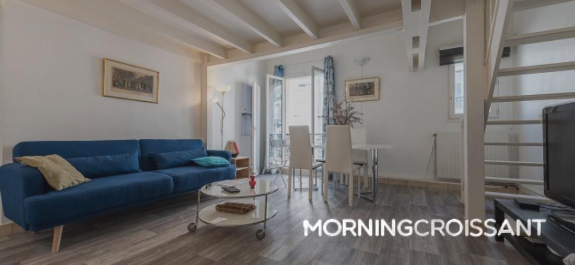 Image de Morning Croissant, client de notre agence de referencement google à Paris